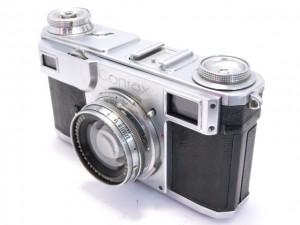 ツアイスイコン コンタックスⅡ型+ゾナー5cm/2