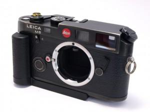 ライカ M6 BK+グリップ14405