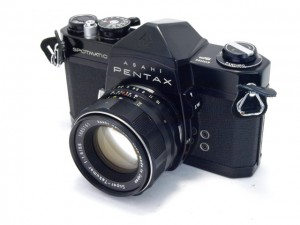 ペンタックス SPブラック+ST55/1.8