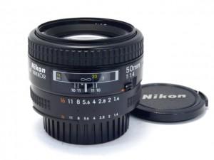 ニコン AF50/1.4