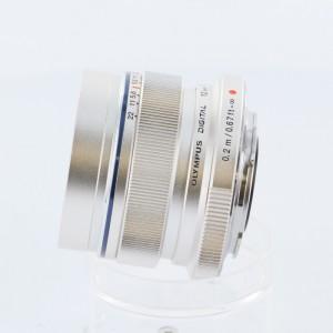 オリンパス M.ズイコー ED12/2.0 シルバー