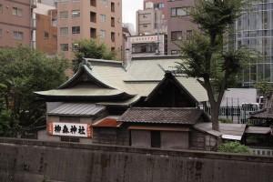 柳森神社・背面