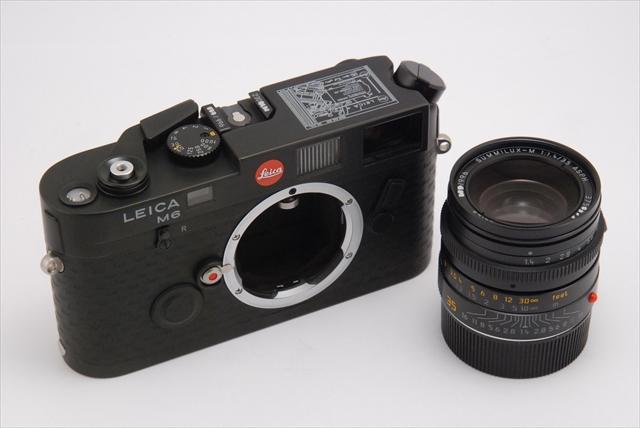 ライカ M6 一株ライカ+ズミルックスM35/1.4ASPH.[アインシュトック ライカ]_793848b