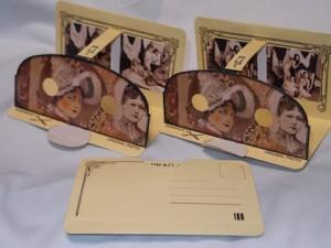 ポストカード式ステレオ写真
