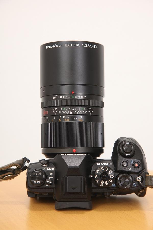 HandeVision IBELUX 0.85/40mm