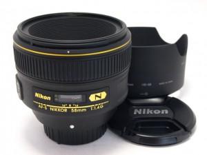 ニコンAF-S58/1.4G