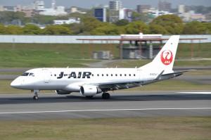 大阪国際空港32L小型機