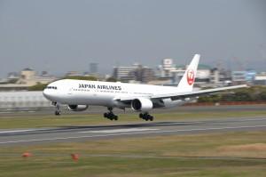 大阪国際空港32L大型機
