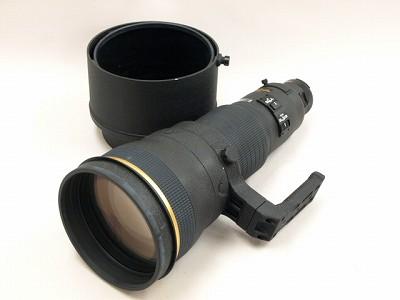 ニコンAF-SED600/4D前面