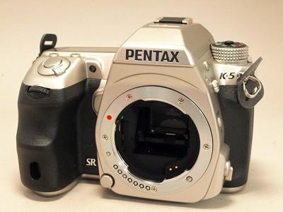 ペンタックスK-5シルバー