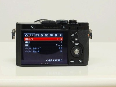 SONY RX-1背面