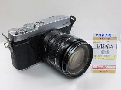 フジX-E1レンズキット