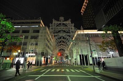 2012ルミナリエ フロントーネ点灯前