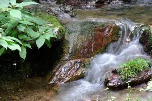 滝低速シャッター