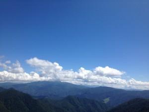 5.登山中の眺望