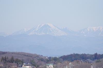 日光男体山