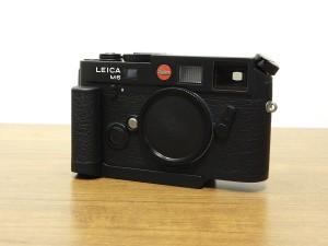 ライカ M6TTL(BK)0.72+ハンドグリップ・1