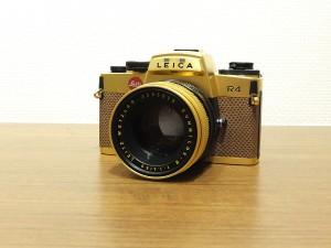 ライカR R4+50・1.4(ゴールドセット)・1
