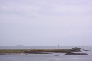 タンカーと海ホタル