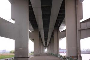 平井大橋下