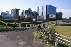 空港近く・橋