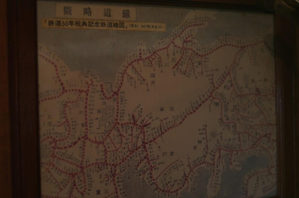 大正時代の国鉄の地図