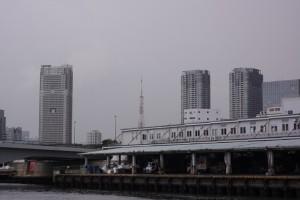 築地に東京タワー