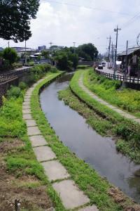 商都河越は、この新河岸川から江戸に物資を船で送って栄えたのです