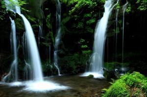猿壺の滝②