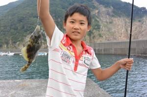 AW1 釣り①