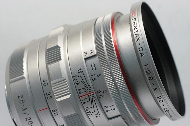 PENTAX HD-DA20-40/2.8-4LTD