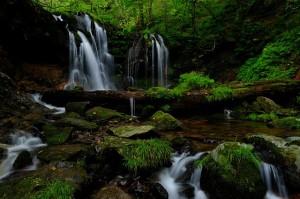 X-T1猿壺の滝 全景