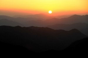 氷ノ山 日の出