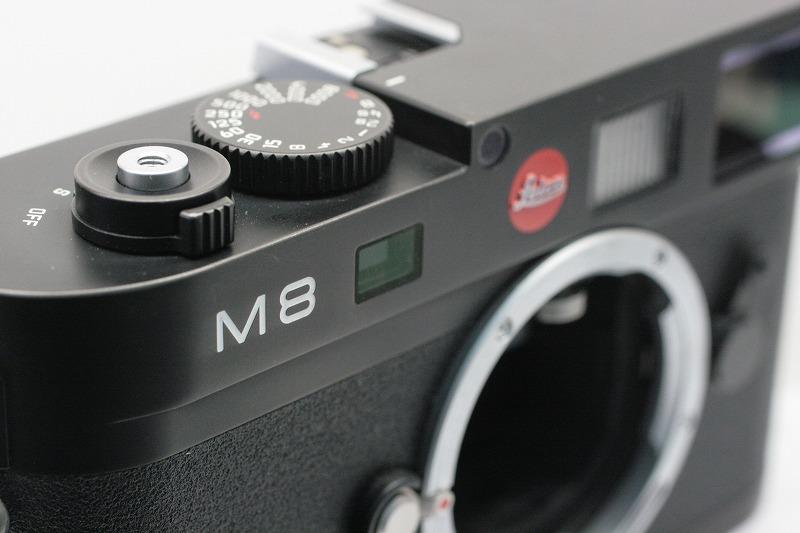 ライカ M8 ブラック