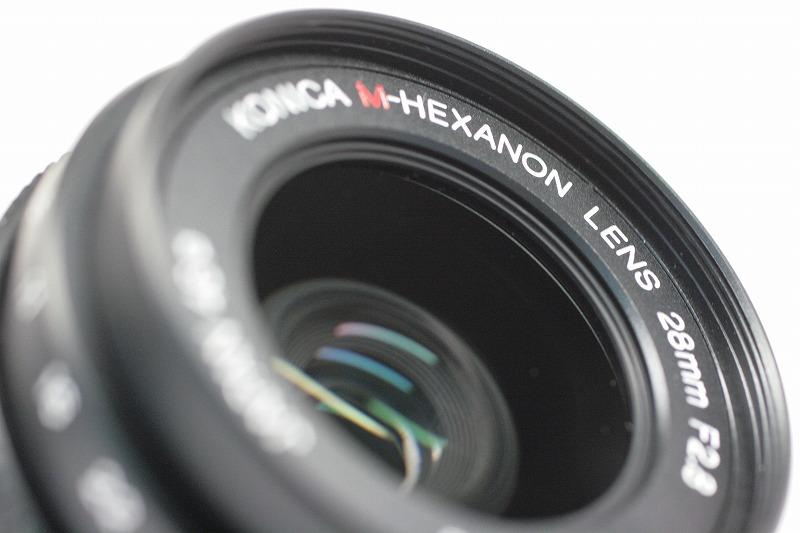 コニカ M-HEXANON 28/2.8