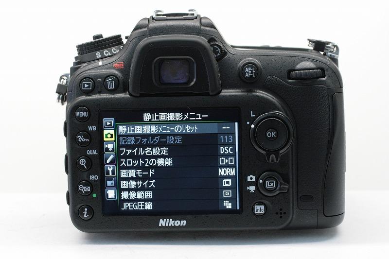 ニコン D7200 AF-S18-140