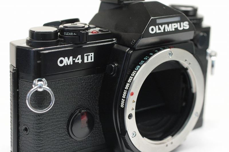 OLYPUS OM-4 Ti BLACK