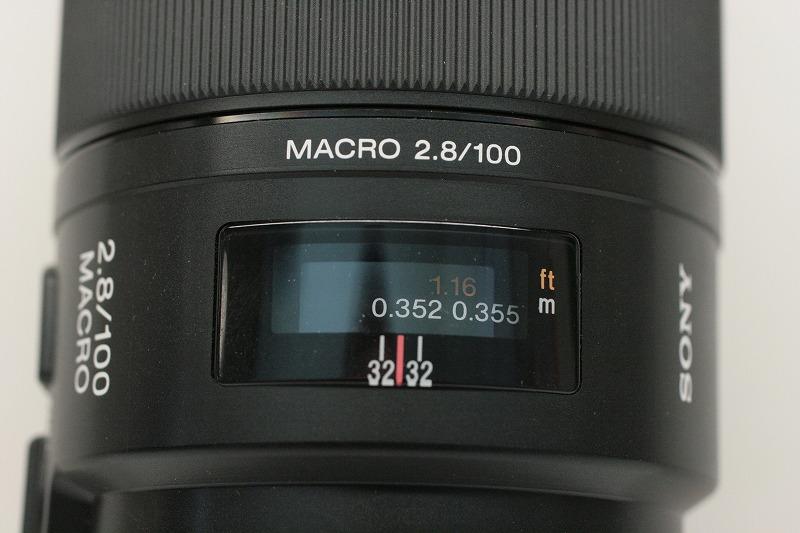ソニー 100/2.8 MACRO