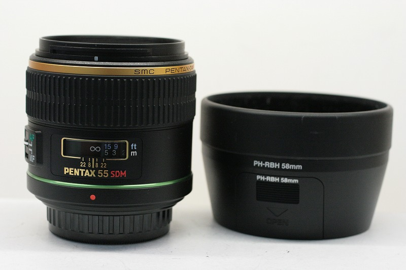 PENTAX DA55/1.4