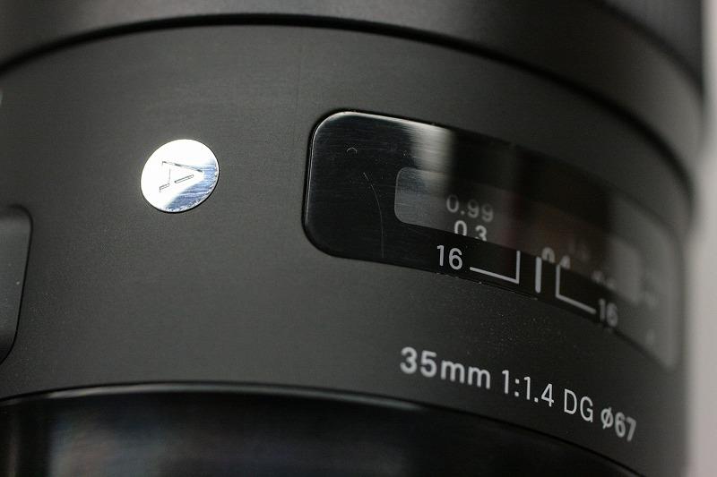 シグマ A35/1.4DG Nikon