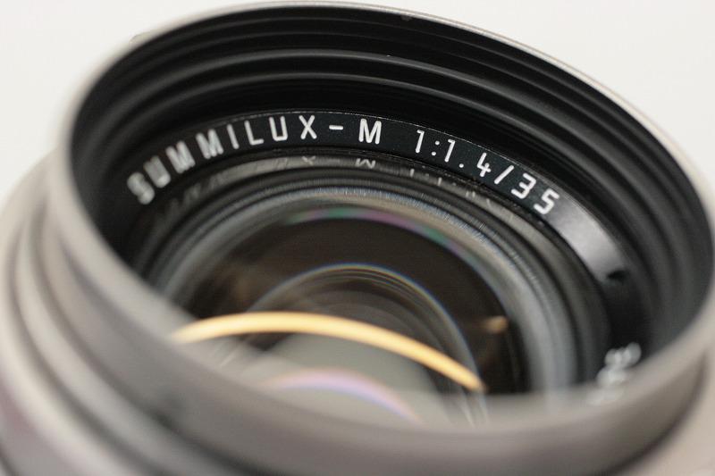 ライカ SUMMILUX-M35/1.4 Ti