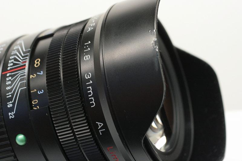 PENTAX FA31/1.8Limited ブラック