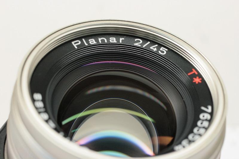 CONTAX Planar 45/2 G用
