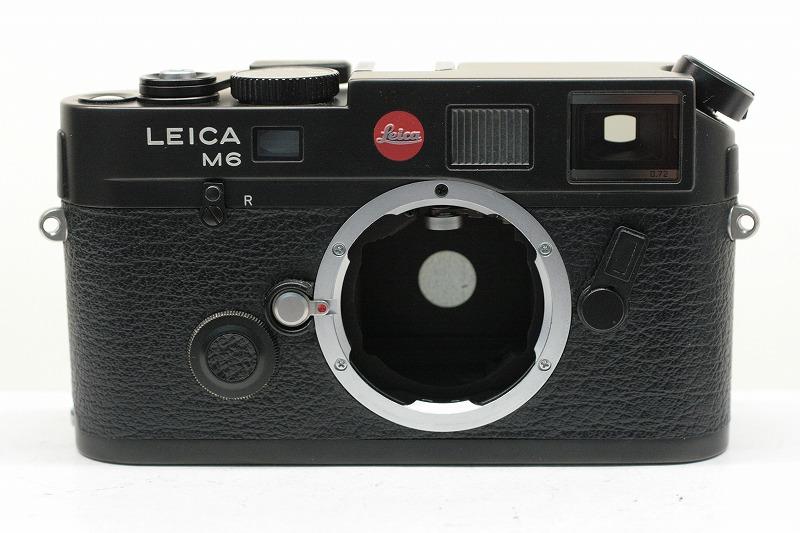 LEICA M6 TTL BLACK 0.72