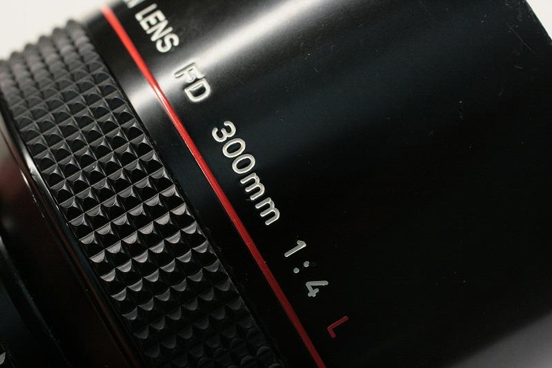 Canon NEW FD 300/4L