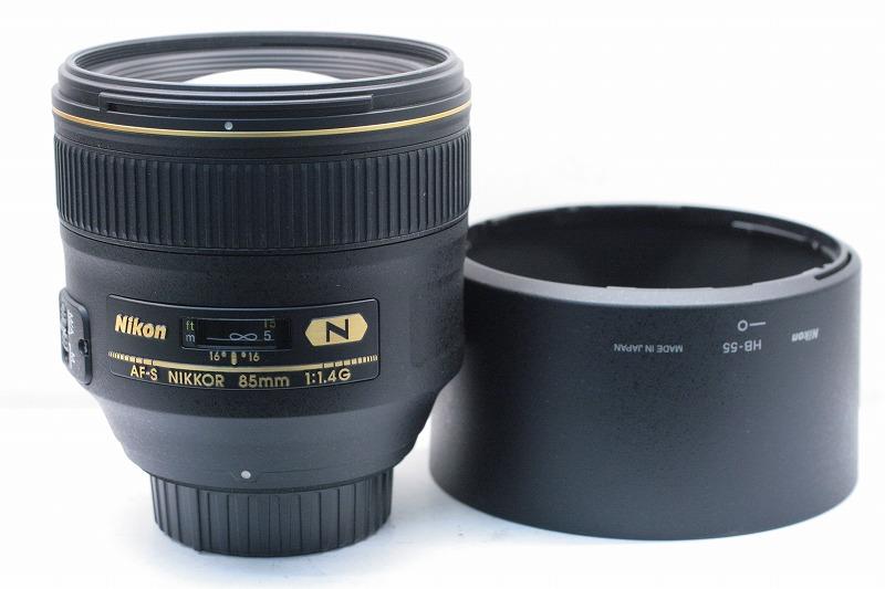 Nikon AF-S 85/1.4G