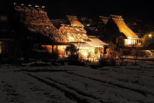 美山 ライトアップ⑤