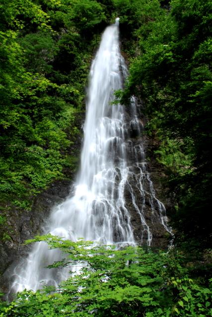 天滝 全景