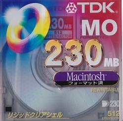 TDK MO 230MB