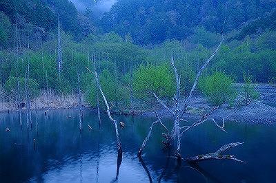 自然湖早朝X-T1